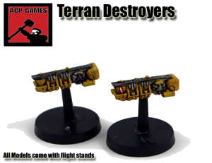 Terran Destroyer two pack