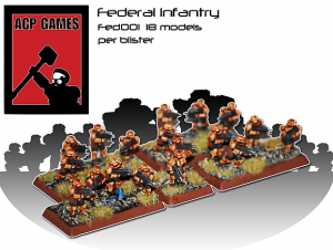 federal infrantry